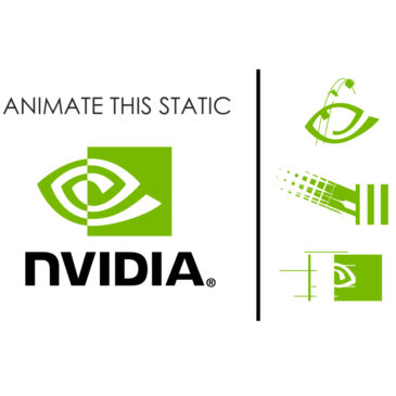 Nvidia logo animation