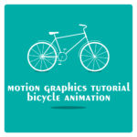 Motion graphics bicycle