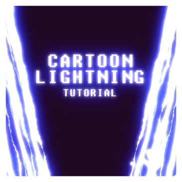 Anime lightning in After Effects