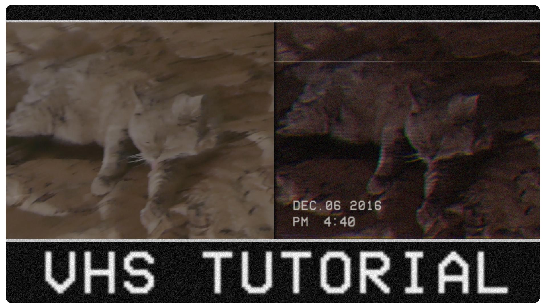 VHS tutorial