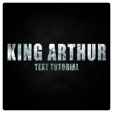 After Effects text tutorial: King Arthur