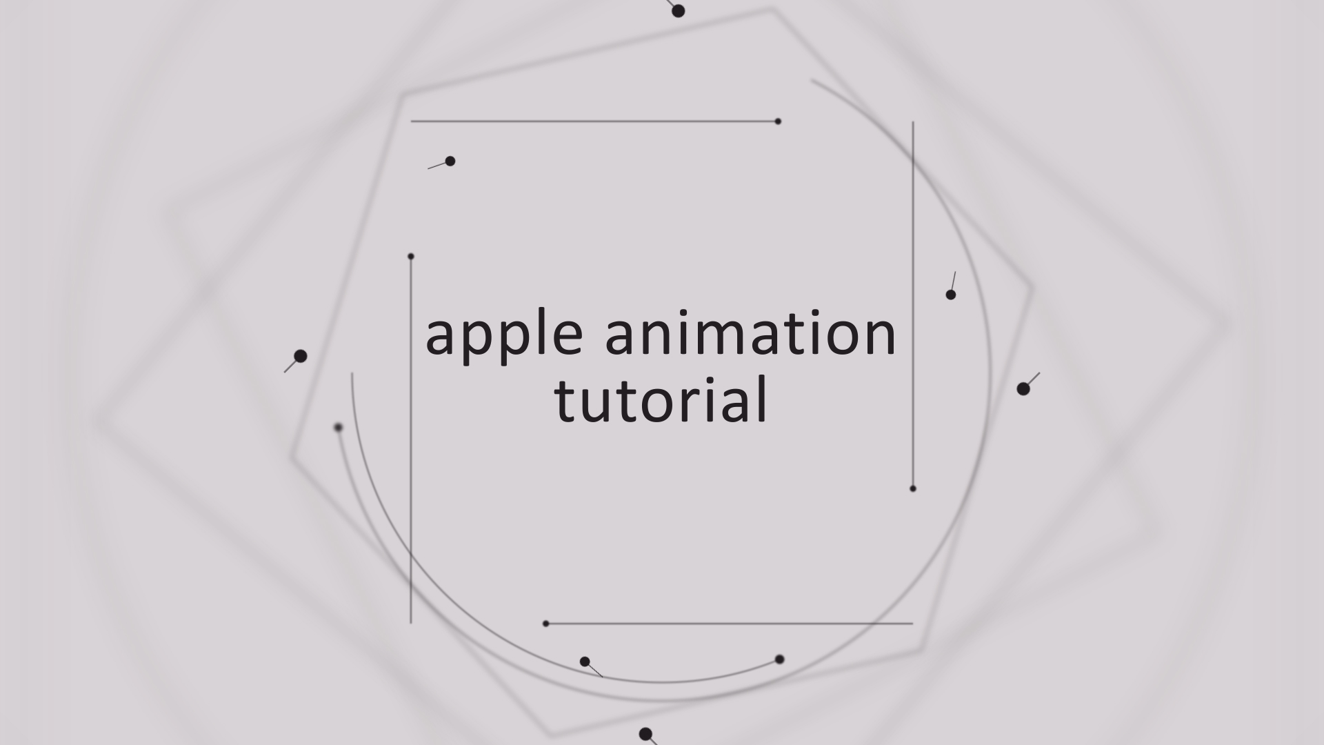 apple animation after effects