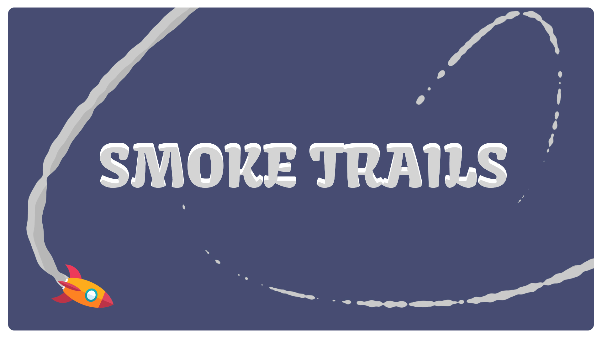 Smoke trails after effects