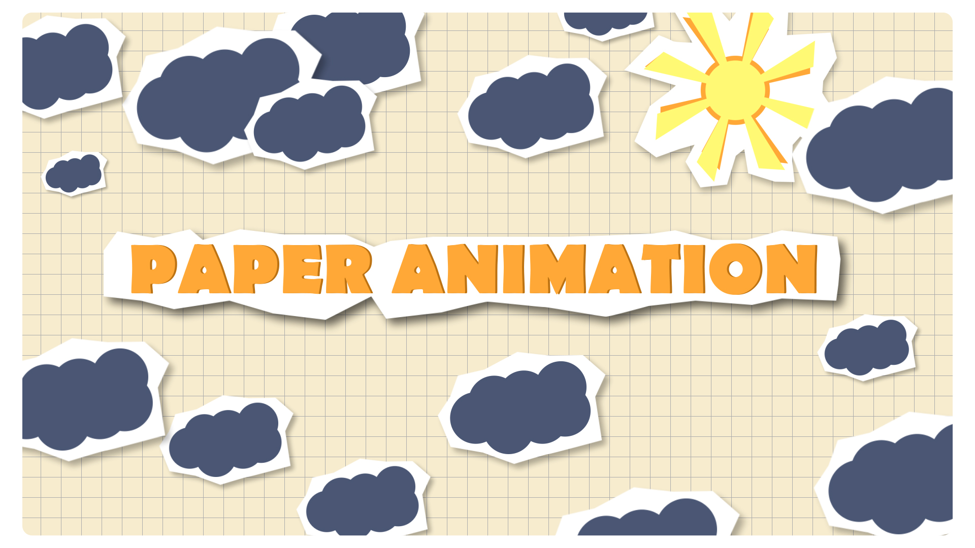 paper animation after effects