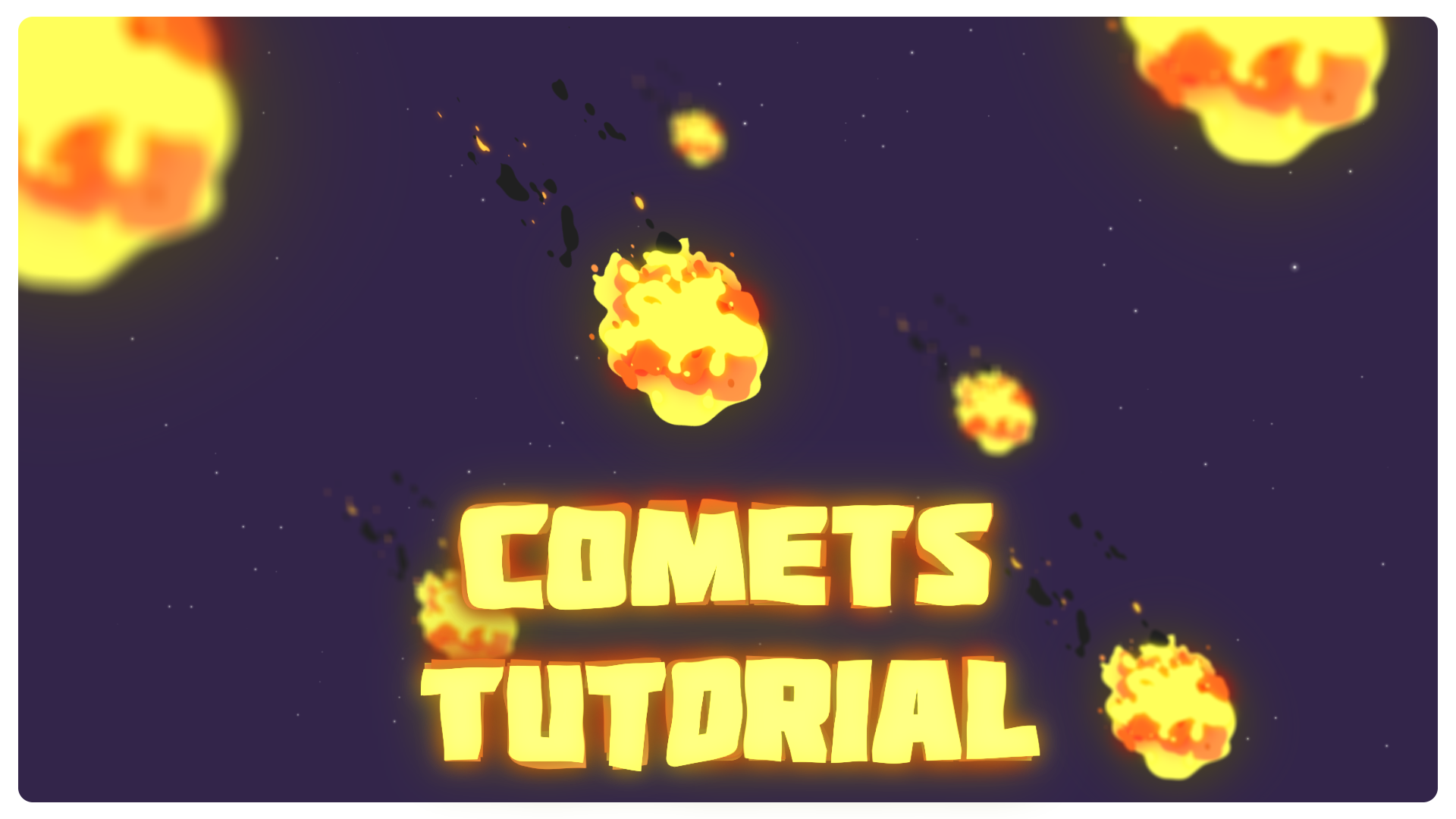 comets in after effects