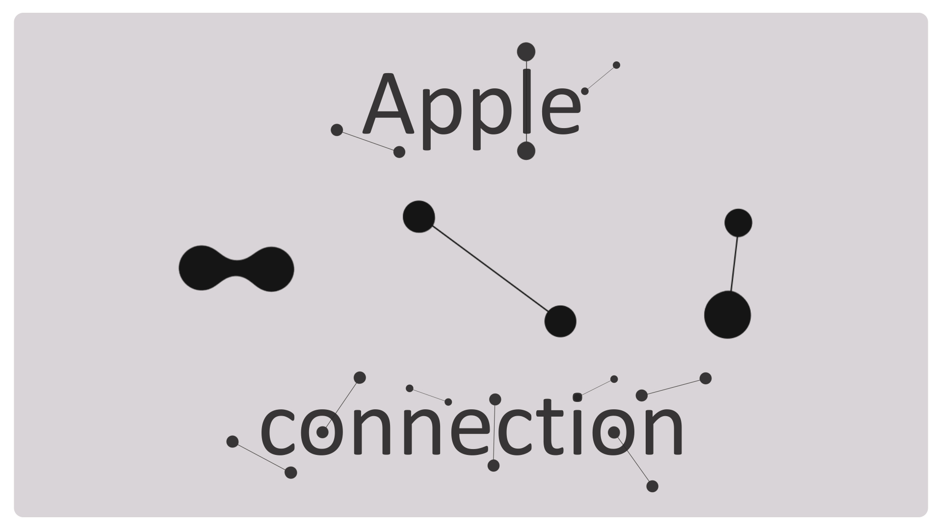 Apple animation connection