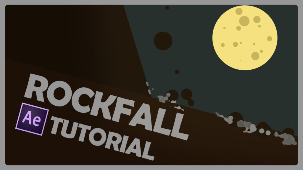 rockfall after effects tutorial