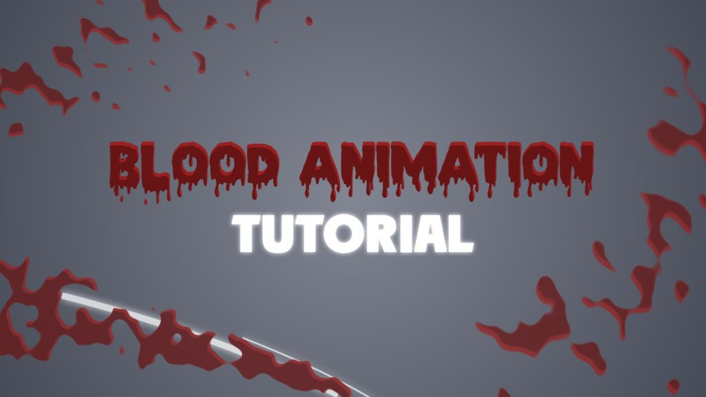 blood after effects tutorial