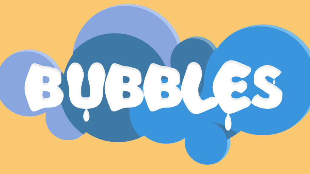 bubbles animation after effects