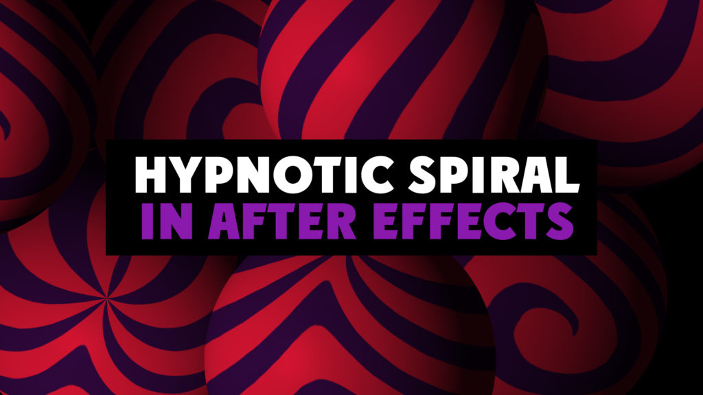 hypnotic spiral in after effects