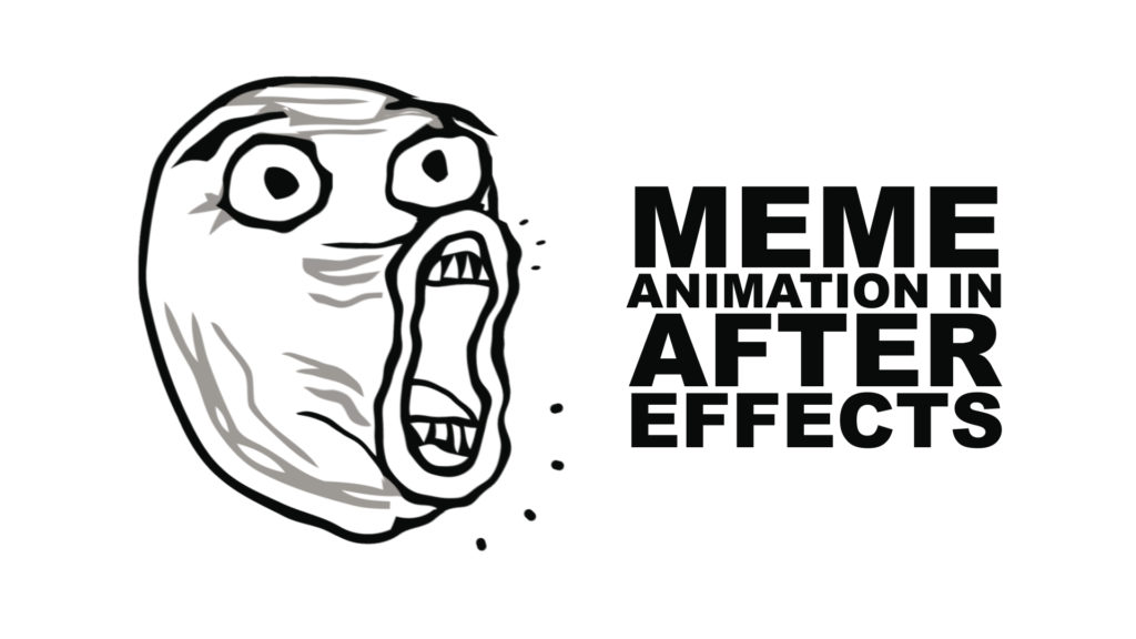 meme animation in after effects