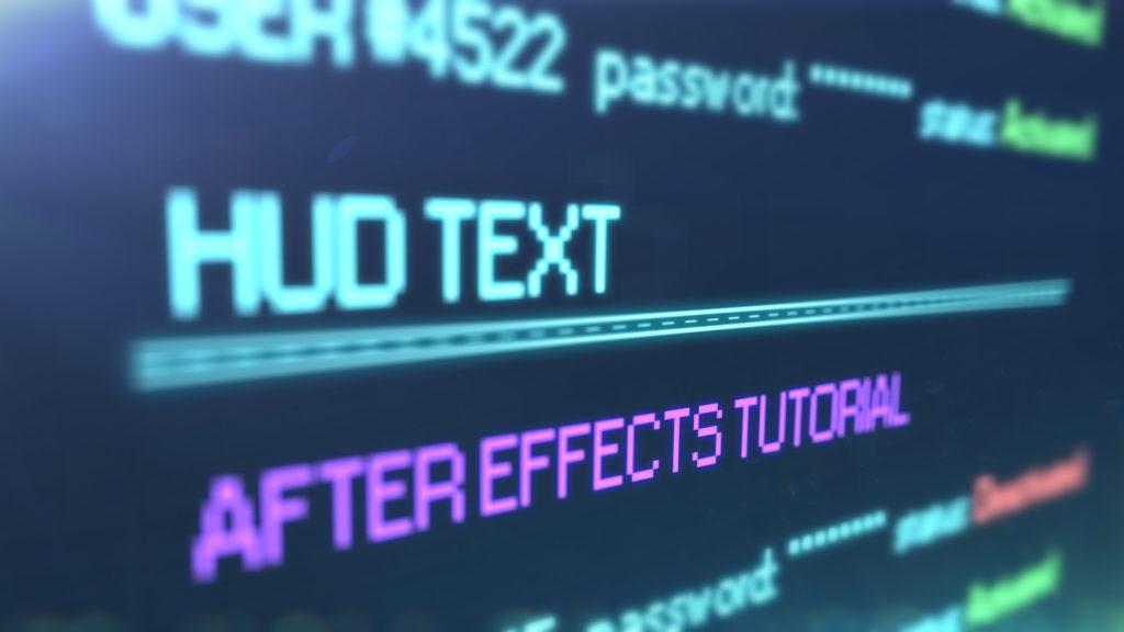 create hud text