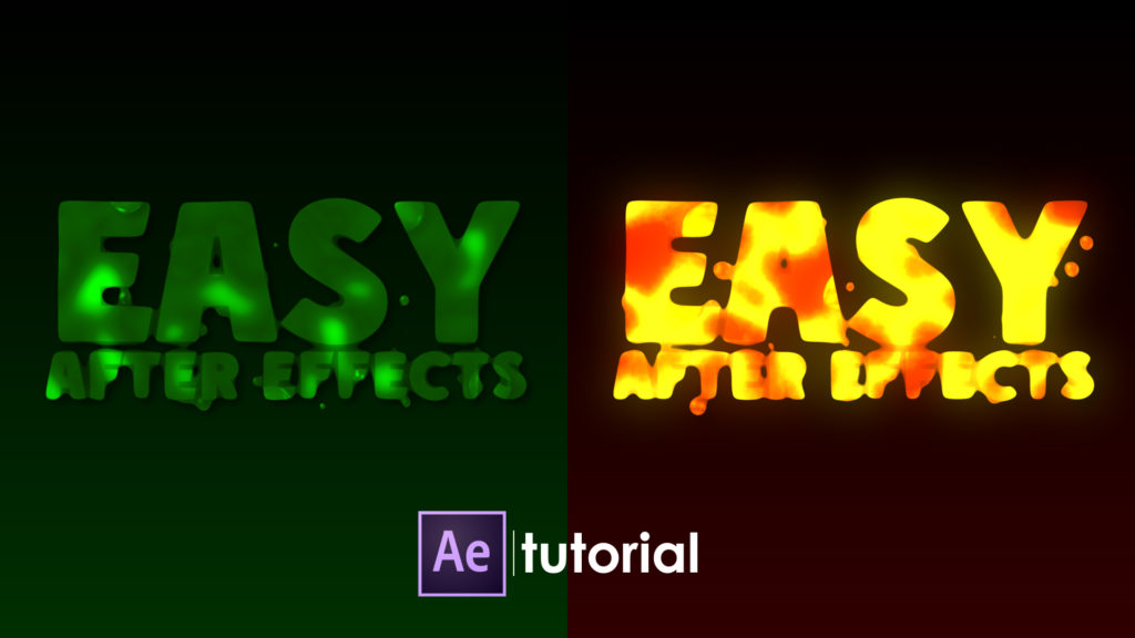 text animation in after effects