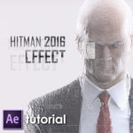 Hitman 2016 effect in After Effects