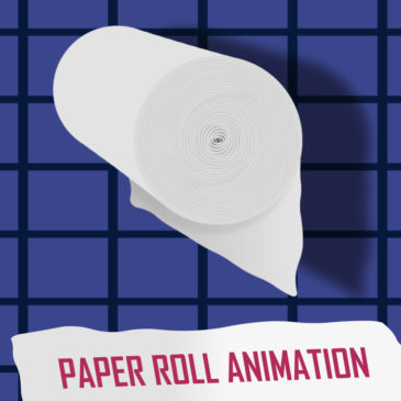 Paper roll animation in After Effects