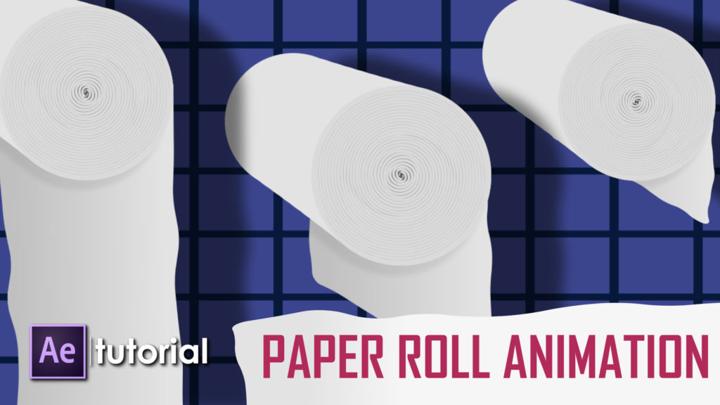 paper roll animation