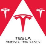 Tesla logo animation