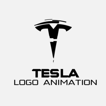 Tesla logo animation tutorial