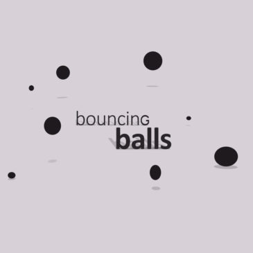 Apple animation Bouncing Balls