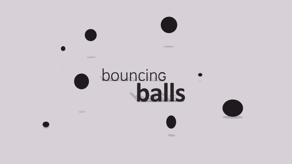 animation bouncing ball
