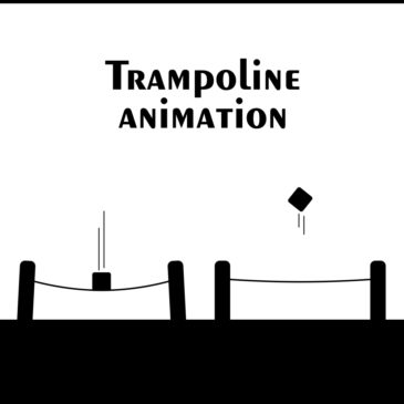 Trampoline animation in After Effects