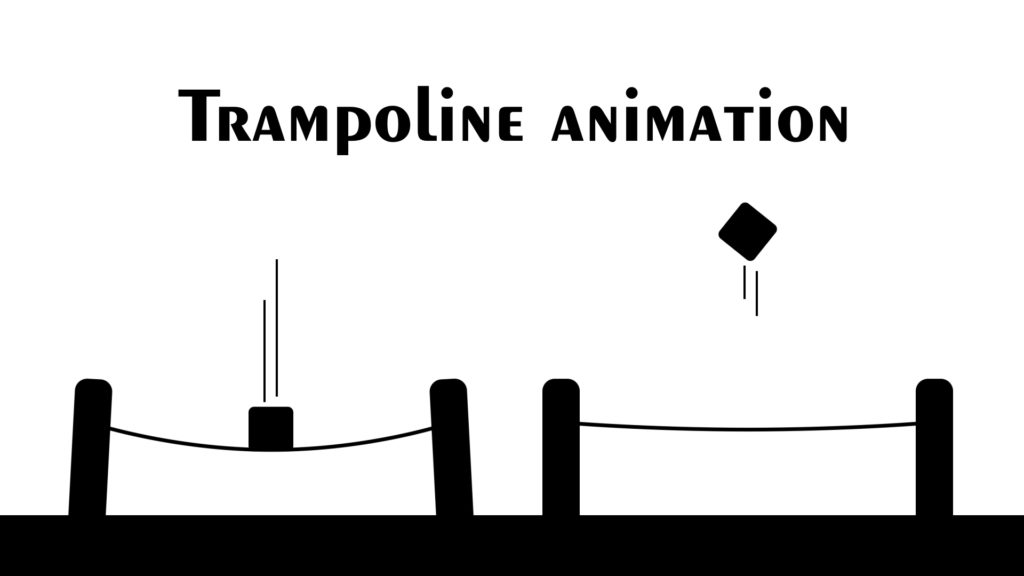 trampoline animation after effects