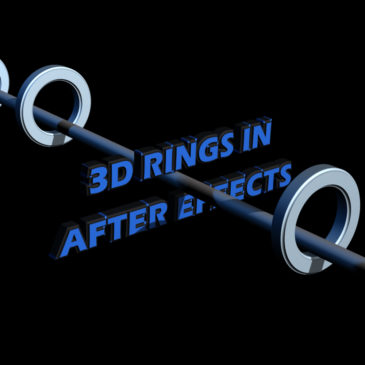 3D Rings animation in After Effects