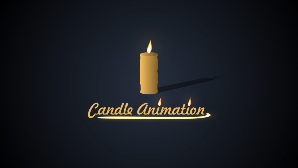 candle animation