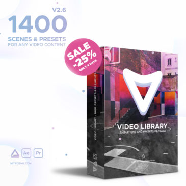 Create awesome slideshow in After Effects – Video Library review
