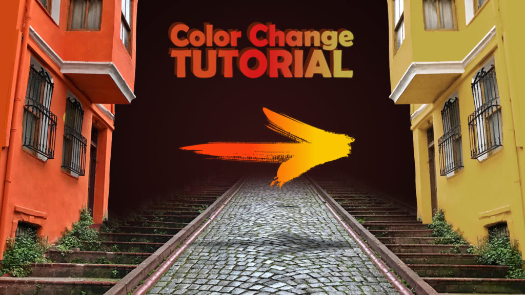 change color after effects