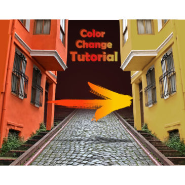 Color change – After Effects tutorial