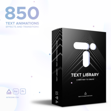 Awesome text animation in After Effects – Text Library review
