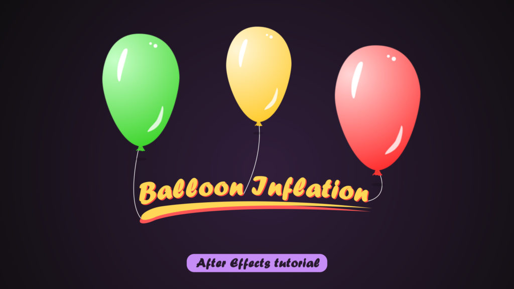 balloon inflation animation