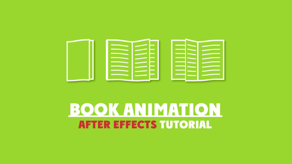 book animation in after effects