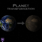 Planet transformation in After Effects