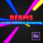 Beams – Flying through animation