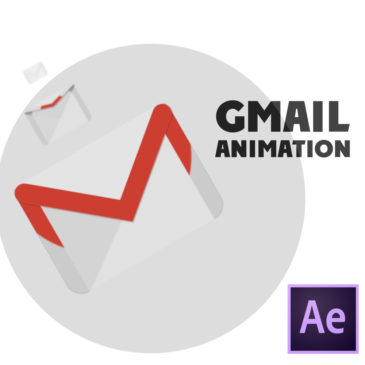 Gmail animation in After Effects