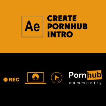 Create pornhub intro in After Effects