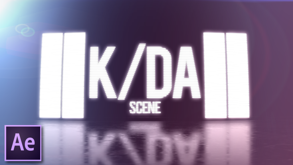 create KDA scene in After Effects