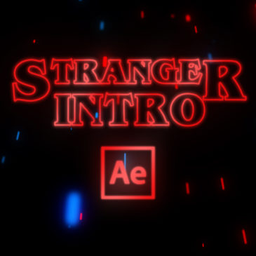Stranger Things intro in After Effects