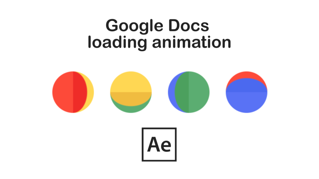 Google Docs animation After Effects | EasyAfterEffects net