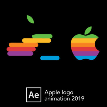 Apple logo animation 2019