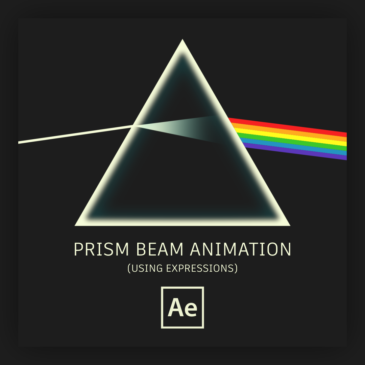 Prism beam animation in After Effects