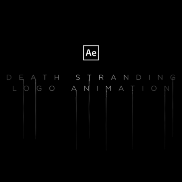 Death Stranding logo animation