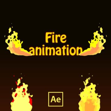 Fire animation in After Effects