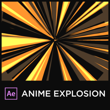 Anime Explosion in After Effects tutorial