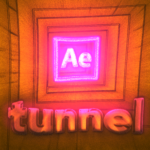 Tunnel animation in After Effects