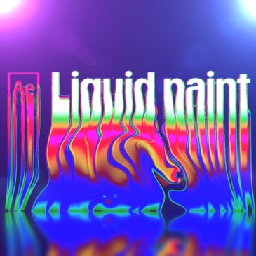 Liquid text in After Effects