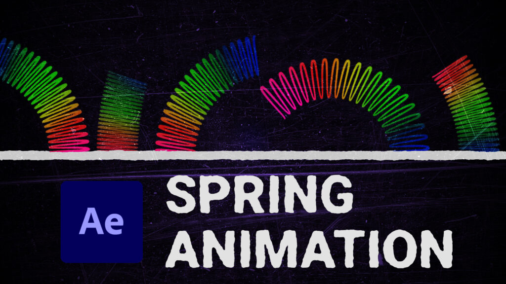 spring animation after effects