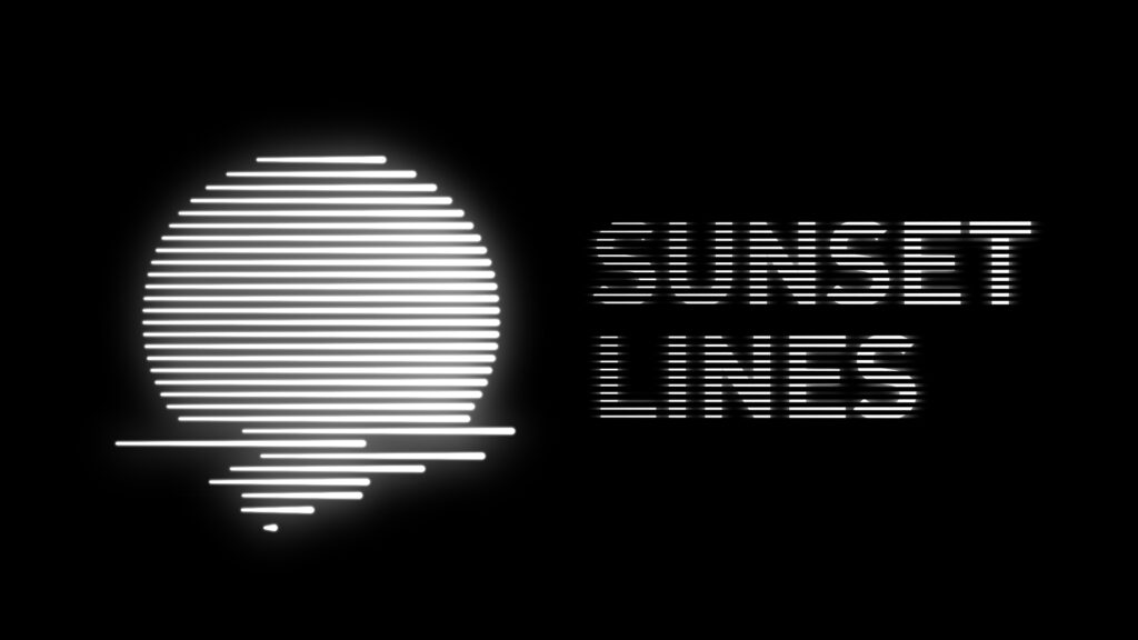 Retro Sunset in After Effects